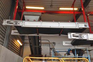 Rullställstransportör TR-1000 montering